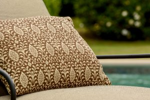 GeoBella<sup>®</sup> Sitzpolstergewebe für außen in neutraler Farbgebung