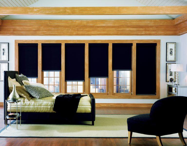 Phifer SheerWeave 7600 Blackout 7650 Lichtfilterendes Sonnenschutz-Interieur