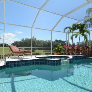 Phifer 18 x 14 Fiberglas Mesh Pool und Patio Screen