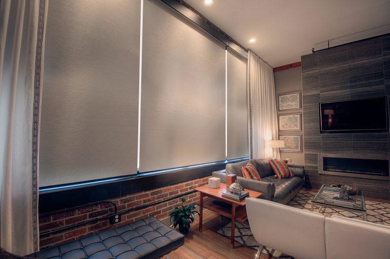 Phifer SheerWeave 7200R Blackout / 7250R Light-Filtering Sun Control Interior