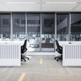 kommerzielle Bürofensterbehandlungen